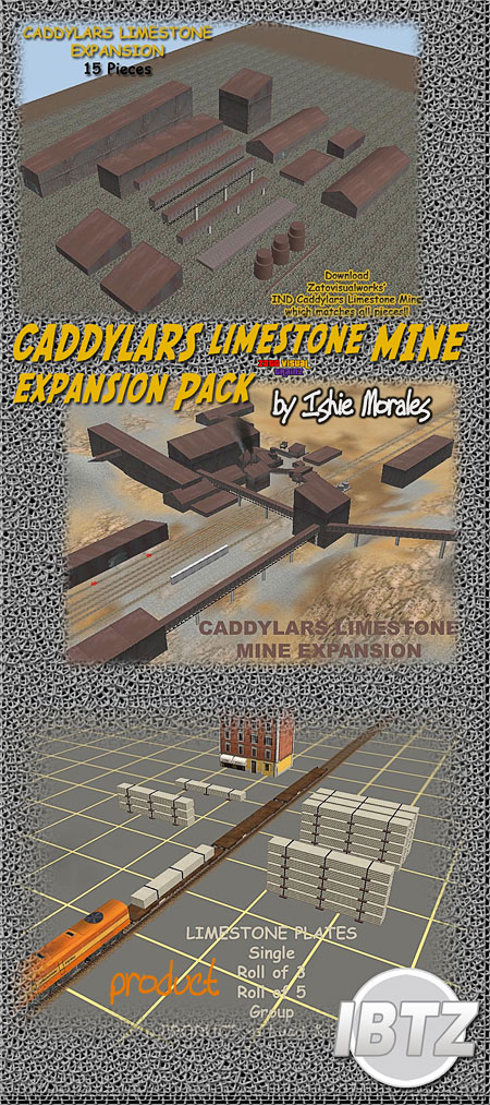 CADDYLARS Limestone Mine Expansion Pack
