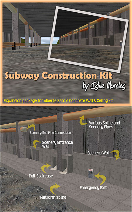 Subway Construction Pack